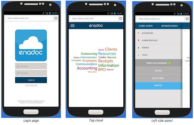 Enadoc 1.3 capture mobile