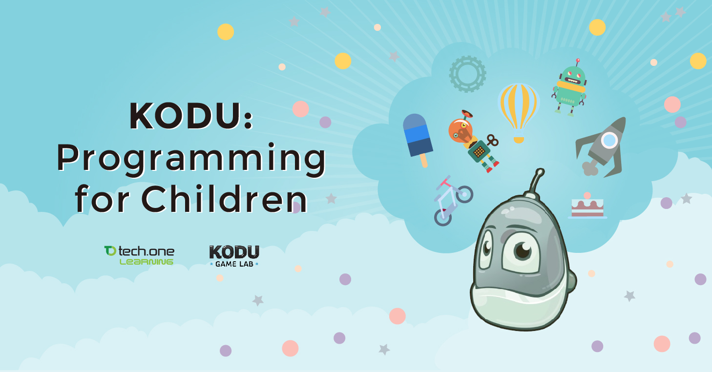 Kodu Programming For Children From Tech One Learning Blog Tech One Global