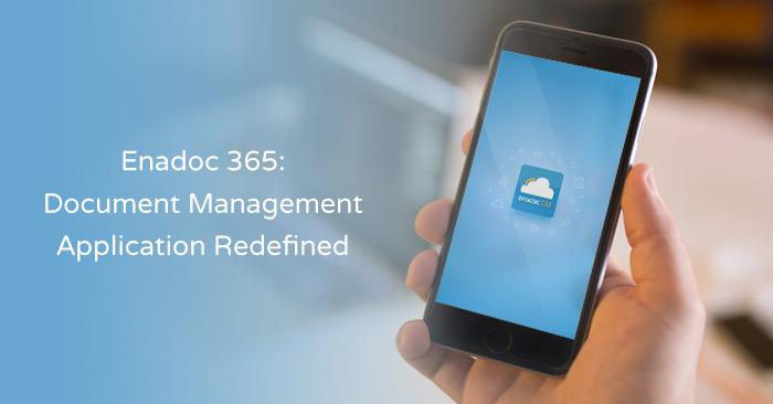 dms, document management system, enadoc 365