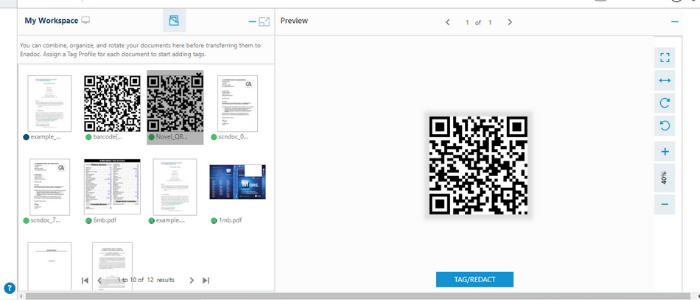 QR code smart tags